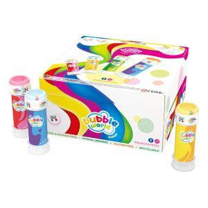 Bolle di sapone Bubble World Color_confezione da 36 pz