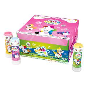 Unicorn - Bolle di sapone Bubble World - Confezione da 36 pz