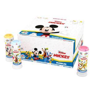 Mickey Mouse - Bolle di sapone Bubble World - Confezione da 36 pz