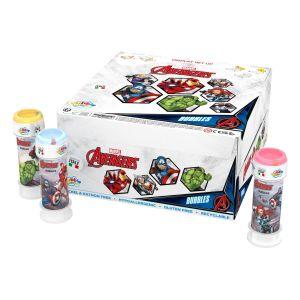 Bolle di sapone Bubble World Avengers_confezione da 36 pz