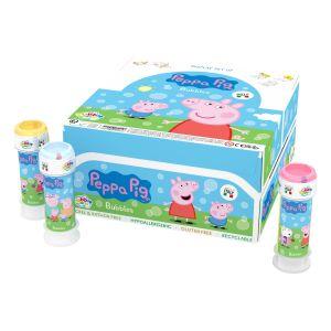 Bolle di sapone Bubble World Peppa Pig_confezione da 36 pz