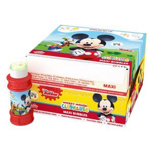 Mickey Mouse - Bolle di sapone Maxi Bubble World - Confezione da 16 pz