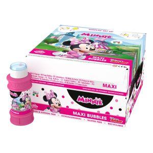 Minnie Mouse - Bolle di sapone Maxi Bubble World - Confezione da 16 pz