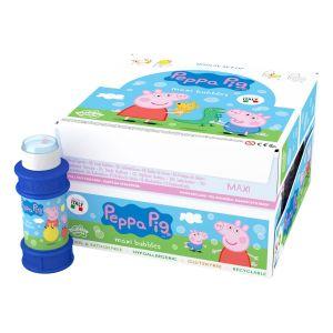 Peppa Pig - Bolle di sapone Maxi Bubble World - Confezione da 16 pz