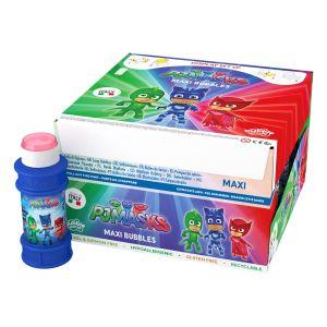 Pj Masks - Bolle di sapone Maxi Bubble World - Confezione da 16 pz