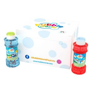Color - Bolle di sapone Glass Bubble World - Confezione da 12 pz