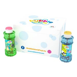 Animal - Bolle di sapone Glass Bubble World - Confezione da 12 pz