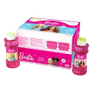 Barbie - Bolle di sapone Glass Bubble World - Confezione da 12 pz