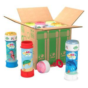 Bolle di sapone in pack Bubble World Sea_confezione da 9 pz