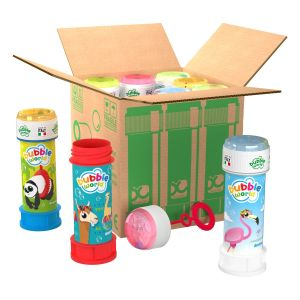 Animal - Bolle di sapone in pack Bubble World - Confezione da 9 pz