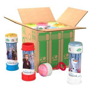 Bolle di sapone in pack Bubble World Frozen 2_confezione da 9 pz