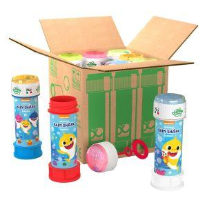 Bolle di sapone in pack Bubble World Baby Shark_confezione da 9 pz