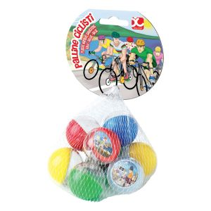 Palline Bubble World Ciclisti