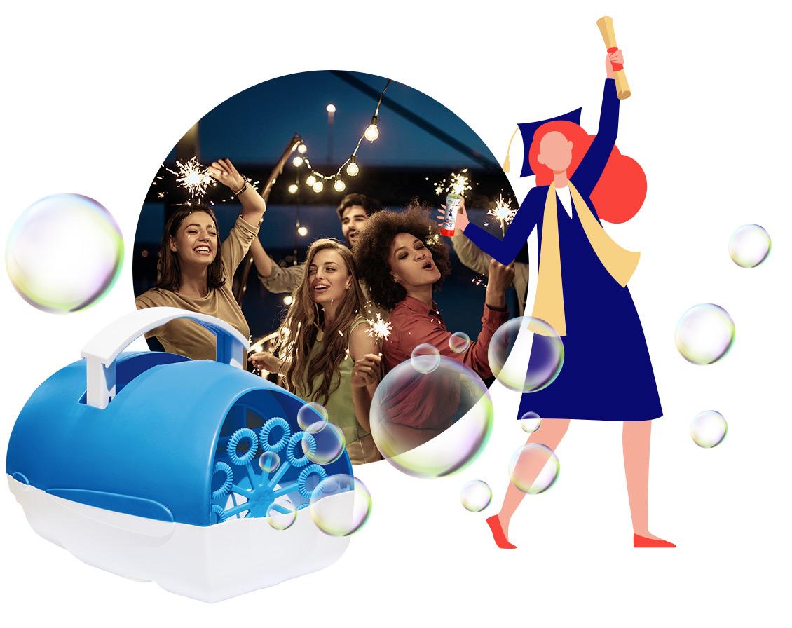 Bubbleworld Laurea Party